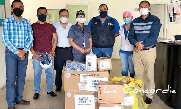 Desde La Concordia CREO agradece a Guillermo Lasso y #SalvarVidasEC por la donación de insumos médicos