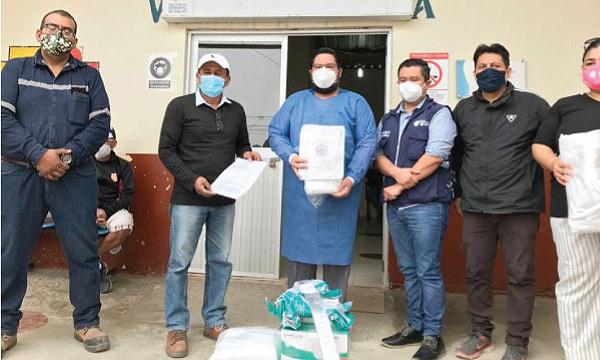 #SalvarVidasEC llega con ayuda al Centro de Salud de La Libertad