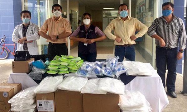 CREO La Troncal agradece a Guillermo Lasso y #SalvarVidasEC por la donación de monitor cardiaco
