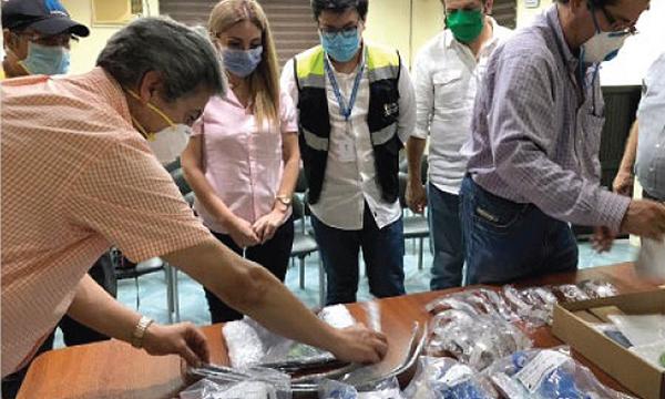 En Macará CREO agradece a Guillermo Lasso y #SalvarVidasEC por la donación de respiradores e insumos médicos