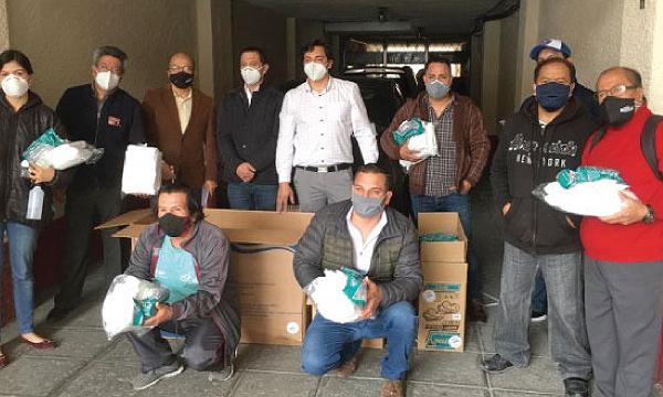 Periodistas del Azuay agradecen a Guillermo Lasso y #SalvarVidasEC por equipos de protección