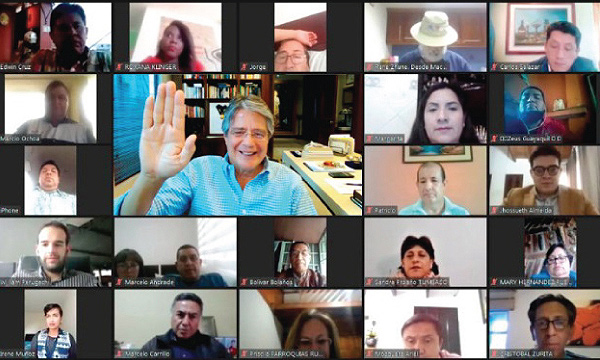Con la presencia de más de 170 Dirigentes Territoriales posesionamos a 13 Directivas y Frentes ciudadanos de CREO Pichincha