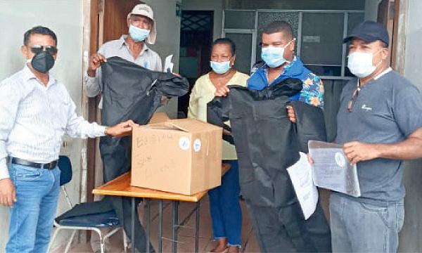 Desde San Lorenzo CREO agradece a Guillermo Lasso y #SalvarVidasEC por la donación de insumos médicos