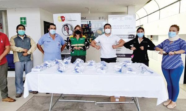 Iniciativa #SalvarVidasEC llega para apoyar Centro de Salud de San Miguel de los Bancos