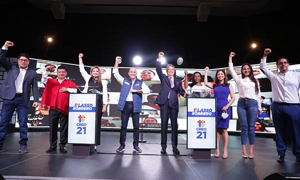 Candidatos de CREO se comprometen a legislar y fiscalizar en favor de los ecuatorianos