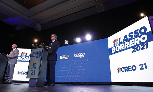 CREO oficializa al binomio Lasso – Borrero
