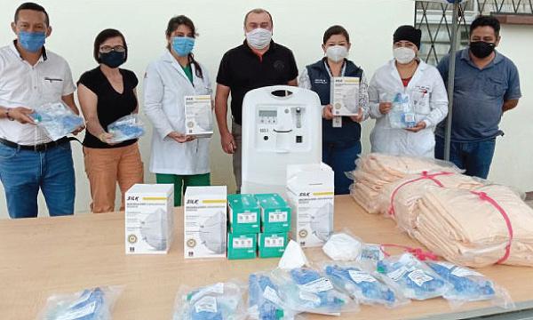 En Pangua CREO agradece a Guillermo Lasso y #SalvarVidasEC por la donación de insumos médicos