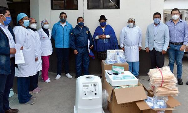 Desde Pujilí CREO agradece a Guillermo Lasso y #SalvarVidasEC por la donación de insumos médicos