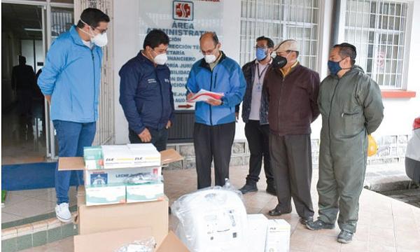 #SalvarVidas llega con ayuda de equipos e insumos médicos a Latacunga