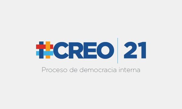 El movimiento CREO se encuentra desarrollando su proceso de Democracia Interna