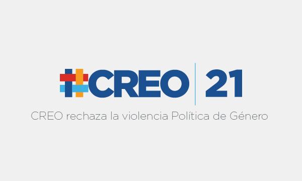 CREO rechaza la violencia Política de Género