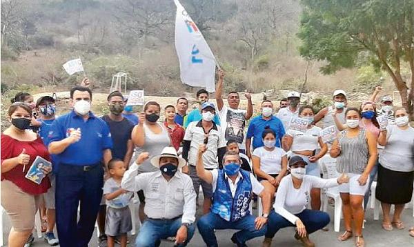 CREO Manabí lleva la propuesta de Lasso-Borrero al cantón 24 de Mayo