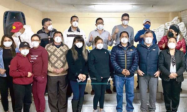 En Tungurahua CREO posesiona nueva directiva de Simón Bolívar