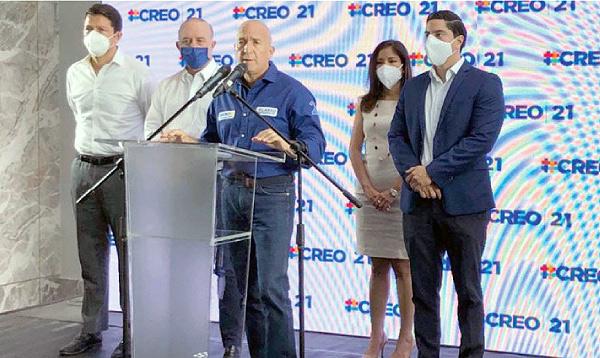 CREO cerró alianza con PSC y sigue abierto a sumar nuevos aliados