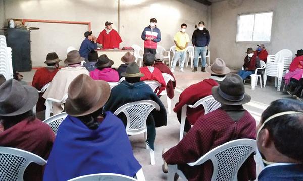 En Chimborazo se fortalece el trabajo territorial en las parroquias y barrios