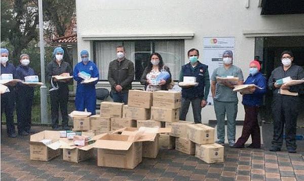 SalvarVidasEC entregó donación a centro de rehabilitación integral en Cuenca