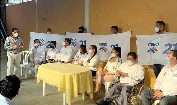 Silvia Vera lleva las propuestas de Lasso-Borrero al cantón Isidro Ayora