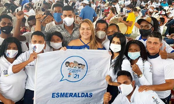En Esmeraldas Campain fortalece las propuestas del binomio Lasso – Borrero