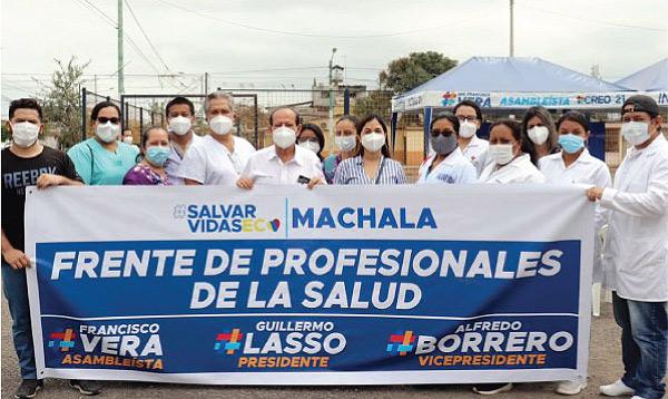 CREO El Oro lleva brigadas médicas a los barrios de Machala