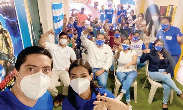 Propuesta de Lasso-Borrero llegan a las Malvinas en Guayaquil