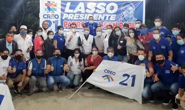 CREO Manabí lleva la propuesta de Lasso – Borrero a San Pablo