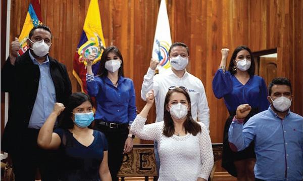Loja inscribió a sus candidatos a la Asamblea Nacional