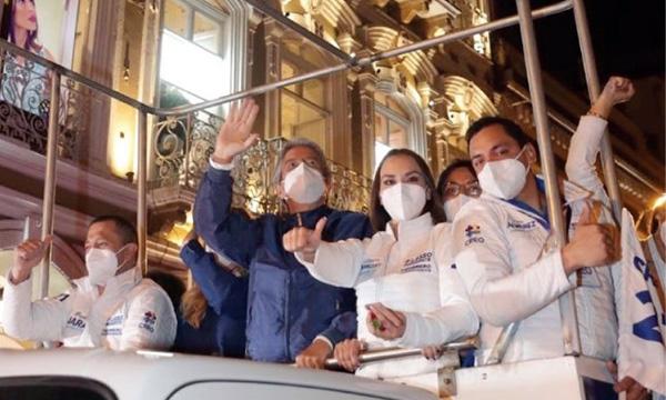 Cuenca reafirma su compromiso del cambio con Guillermo Lasso