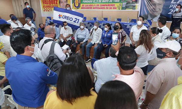 ¡Todos los ecuatorianos tenemos derecho a desear un mejor futuro para nuestros hijos!