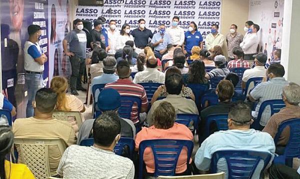 Distrito 1 de Guayas difunde las propuestas del cambio