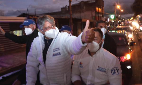 El Binomio del Cambio recibió el respaldo del sur de Quito