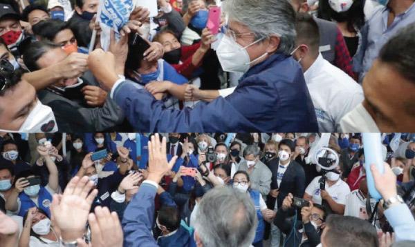 Lasso presentó sus propuestas a los habitantes del sur de Quito