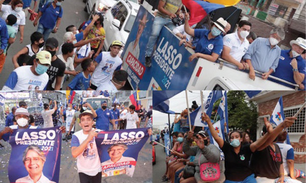La Febres Cordero mostró su total respaldo a Guillermo Lasso