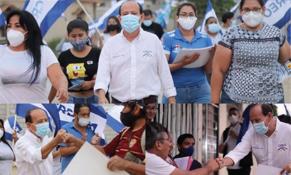 Candidatos recorren Machala llevando las propuestas de Lasso