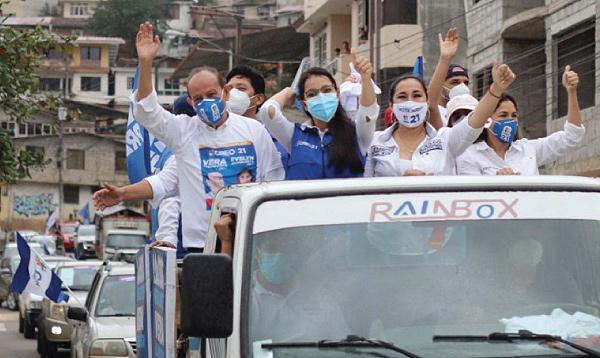 La caravana del cambio recorrió los cantones Portovelo, Zaruma y Piñas