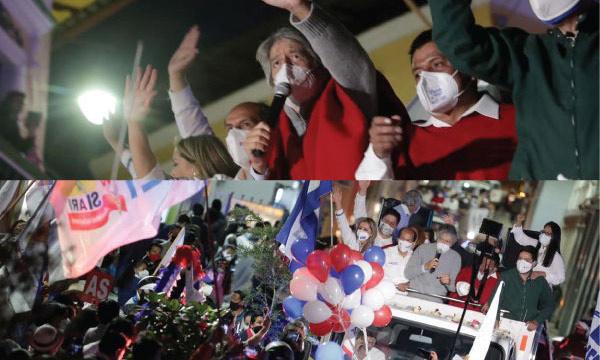 Guaranda se enruta al cambio que propone Guillermo Lasso