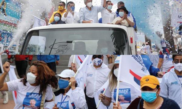 Lasso propone en Chimborazo trabajar por el progreso de todos los Ecuatorianos