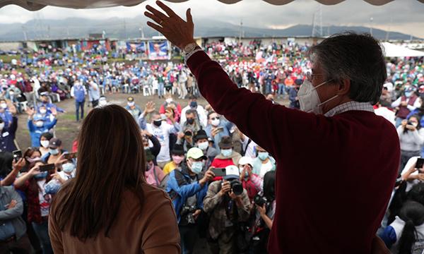 Entre propuestas y un llamado a la Unidad, Lasso arranca su campaña