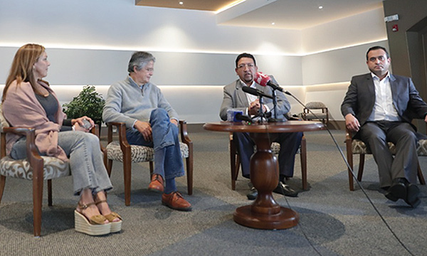 Lasso llama al diálogo a dirigentes y líderes indígenas
