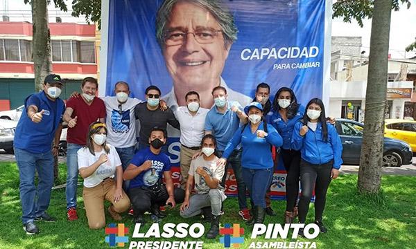 Asambleísta electro de CREO levó propuesta de Lasso al sector de Solanda