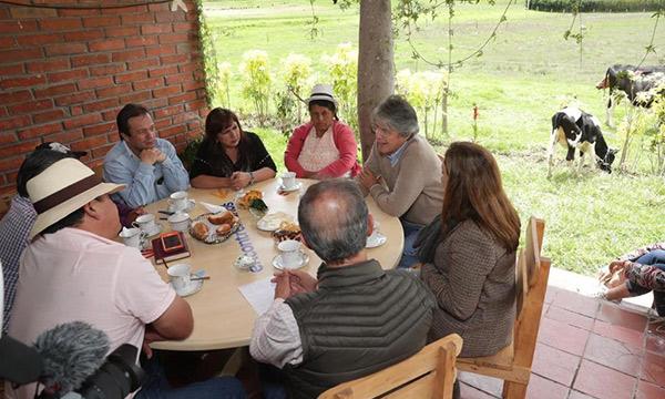 Lasso propone seguridad y créditos para el sector rural del Ecuador