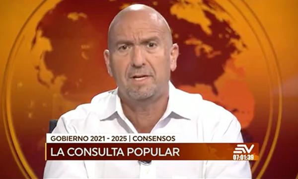 Monge indicó que  Lasso buscará los consensos necesarios para sacar al país de la crisis