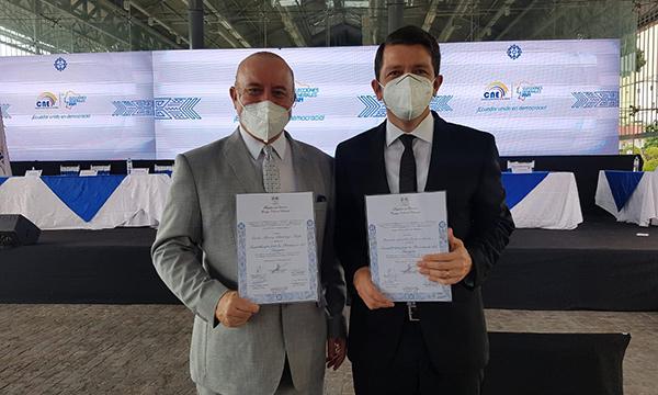 Asambleístas de CREO en Guayas recibieron sus credenciales