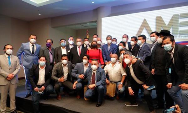 Presidente Electo ratifica con AME el compromiso de trabajar por un Ecuador de oportunidades.