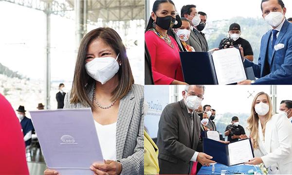 CNE entregó credenciales a los Asambleístas nacionales de CREO