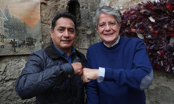 Fernando Gavilanes es el Gobernador de Tungurahua