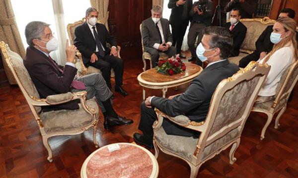 Primer Mandatario se reúne con el líder opositor venezolano Leopoldo López