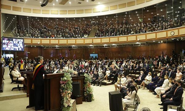 Lasso fue investido como nuevo Presidente Constitucional del Ecuador