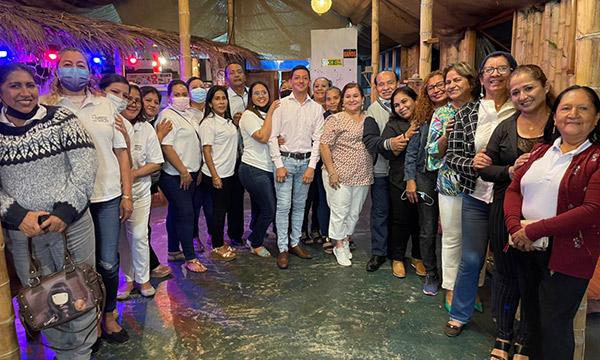 CREO Galápagos fortalece su Frente de Mujeres